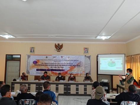Pelatihan Identifikasi dan Sosialisasi Daerah Rawan Bencana di Kecamatan Leksono
